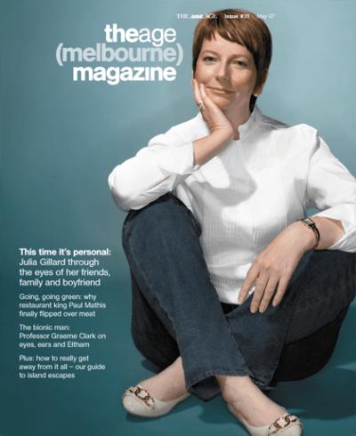 Julia Gillard interview with food writer