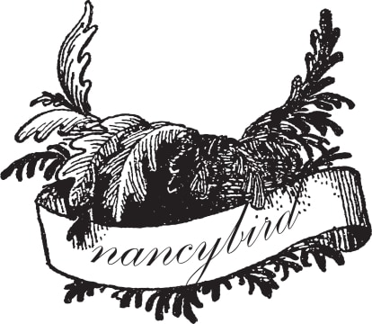 Dani Valent Cooking Nancy Bird logo