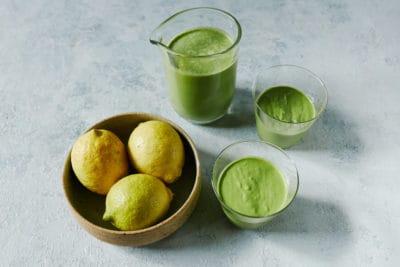 DANI VALENT COOKING Jock Zonfrillo Lemon Bomb Smoothie