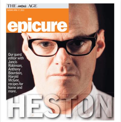 Chef Heston Blumenthal Interview