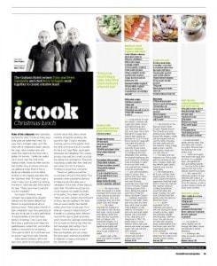 Head Chef and the Graham Hotel talks through the menu