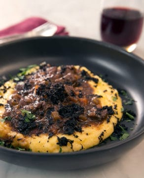 DANI VALENT COOKING Barolo-braised Beef with Polenta Thermomix recipe
