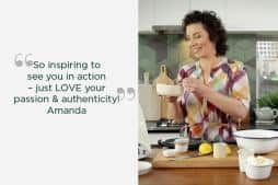 DANI VALENT COOKING Amanda testimonial