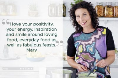 DANI VALENT COOKING Mary testimonial