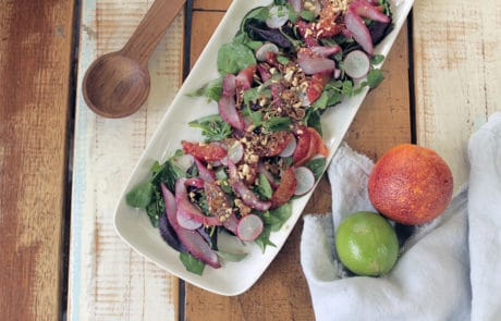 Beetroot-cured Kingfish Salad