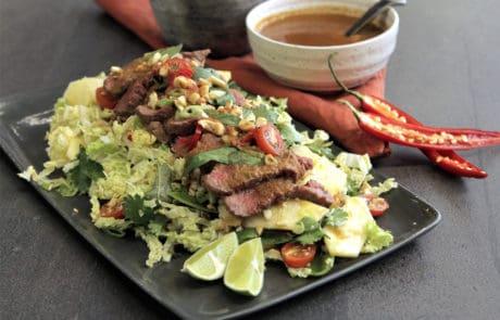 Pineapple-spiked Vietnamese Lamb Salad