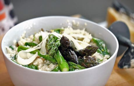 Low & Slow Asparagus Risotto