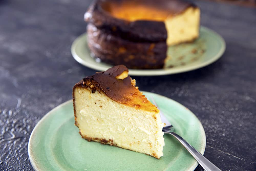 Basque Cheesecake Thermomix Recipe Dani Valent